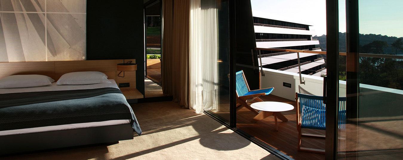 Unique design hotel lone rovinj croatia croatia traveller for Designhotel 4 sterne